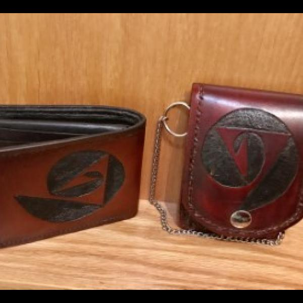 Wallet & Pocket watch combo